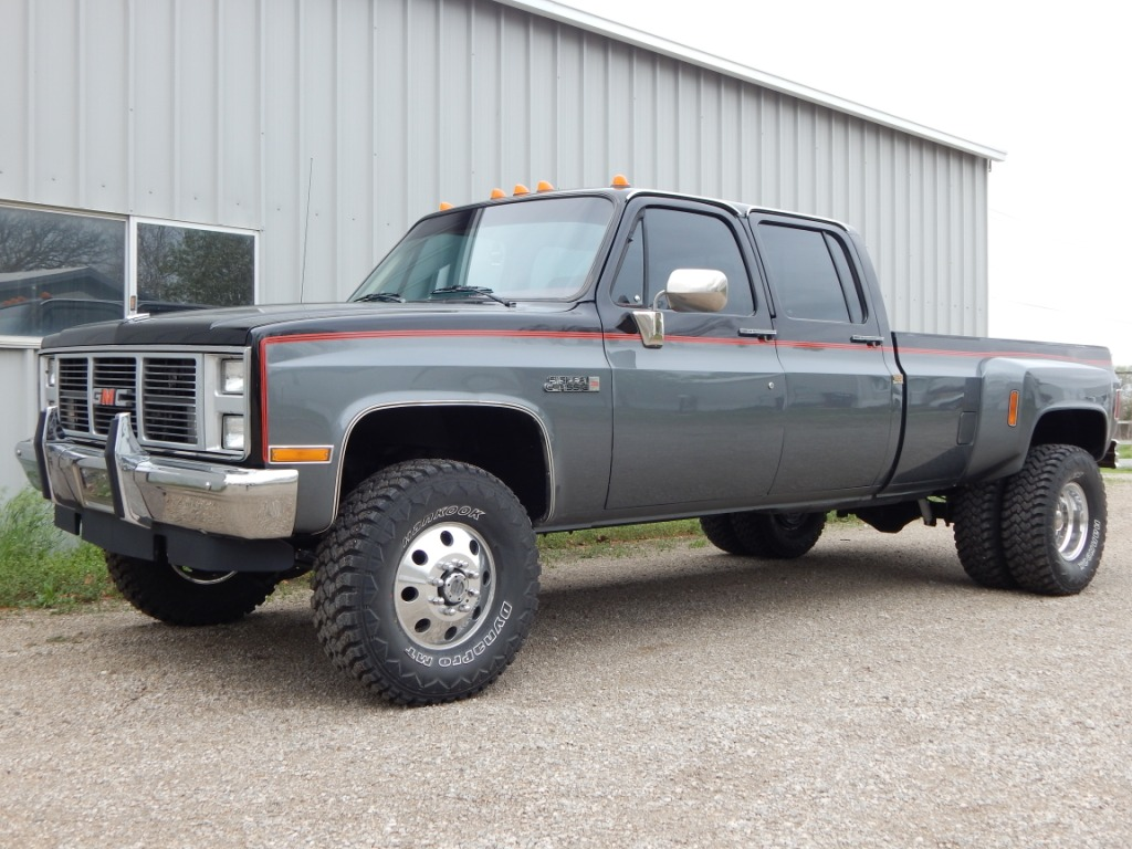 2017 Trucks >> 1988 GMC Crew Cab - The Toy Shed Trucks