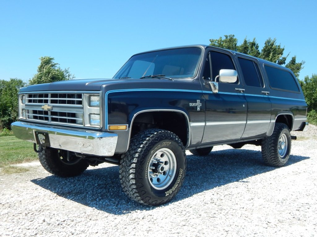 1987 Chevy K20 Suburban The Toy Shed Trucks