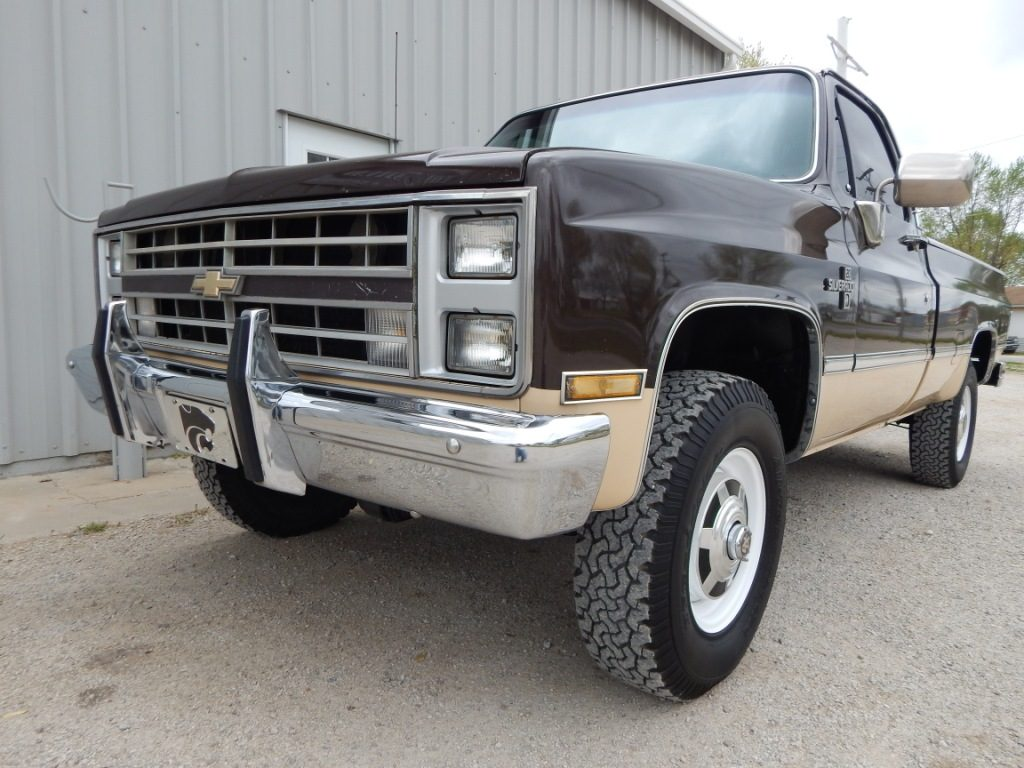 Truck chevy 1985 truck : 1985 Chevy K20 - The Toy Shed Trucks