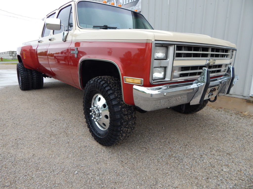 Truck chevy 1985 truck 1985 Chevy K30 Crew Cab - The Toy Shed Trucks