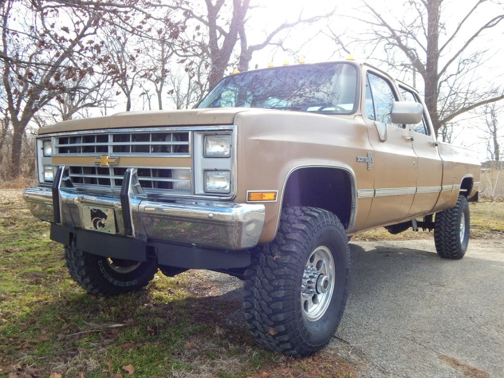 1984 Chevy K30 Crew Cab The Toy Shed Trucks