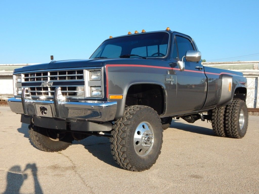 2017 Chevy Silverado 3500 >> 1985 Chevrolet C/K Pickup 3500 Silverado - The Toy Shed Trucks