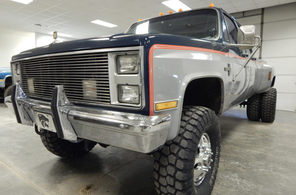 Clint Silver - 1985 Chevrolet Crew Cab Dually (1)