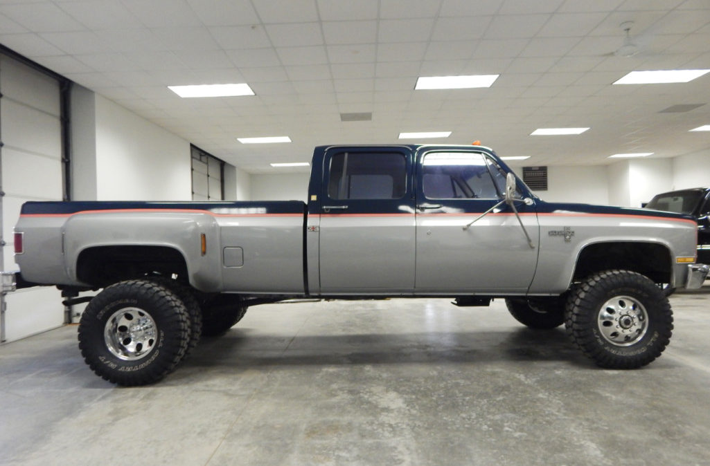 Clint Silver - 1985 Chevrolet Crew Cab Dually (5)