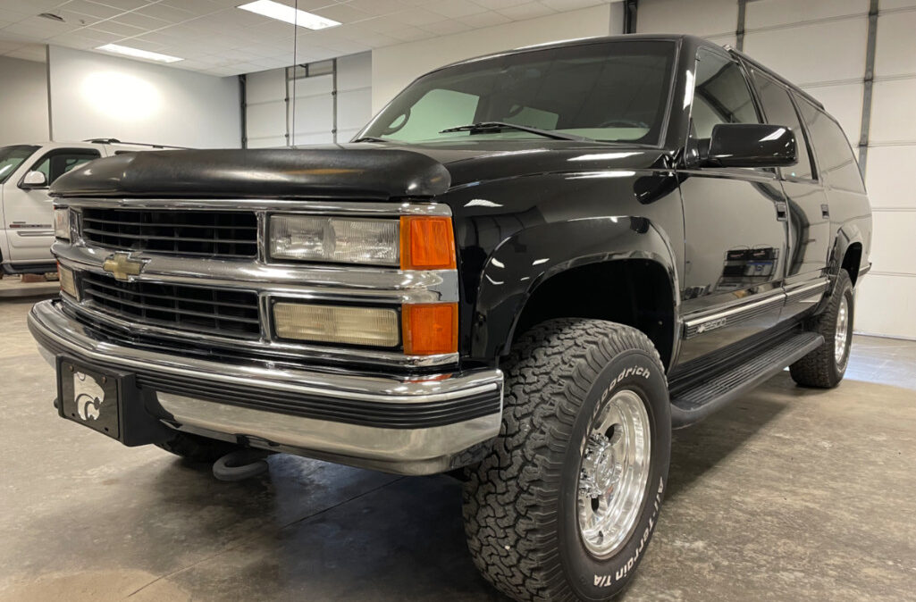 1999 Chevrolet Suburban 2500 (1)