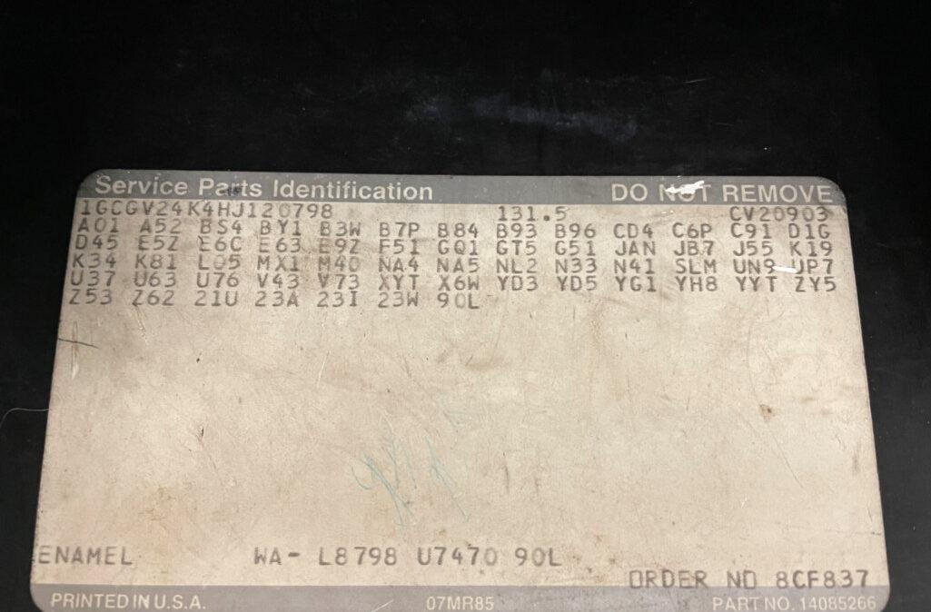 1987 Chevrolet K20 (23)